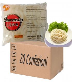 Spaghetti Grossi Udon di Konjac - City Aroma 20 x 200g