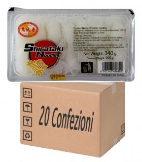 Shirataki di konjac Annodati 20 Confezioni - City Aroma 200g