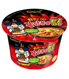 Samyang Big Bowl Noodles Stufato Coreano al gusto Pollo Extra Piccante - 120g