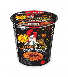 Paldo Cup Noodles Gusto al Pollo Super Piccante livero Vulcano - 70g
