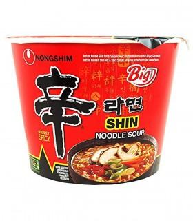 Nongshim Shin Ramyun Big Bowl Noodles Istantanei Corano - 114g