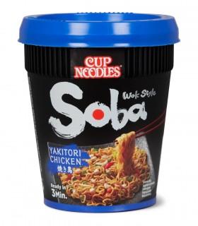 Nissin Cup Soba con Salsa Pollo Yakitori - 87g
