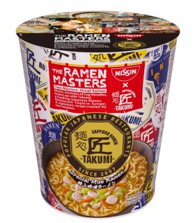Nissin Cup Noodles Gusto Takumi Miso - 63g