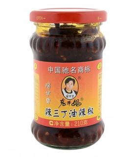 Salsa piccante con tofu rapa bianca e arachidi sotto olio - Lao Gan Ma 210