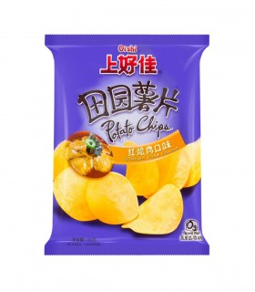 Chips al gusto di Pork - Oishi 40 g