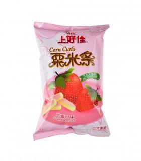 Chips al gusto di Fragola - Oishi 40 g