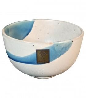 Ciotola da Udon CeramicaGrigio Giapponese - Stile Fusion Dimensione Piccola