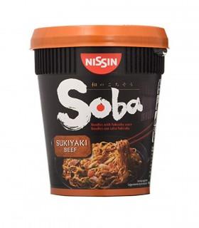 Nissin cup soba gusto sukiyaki beef - 87g
