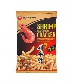Patatine Crackers ai Gmber Piccante - NongShim 75g