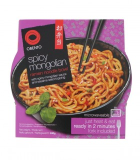 Spaghetti Udon istantaneo Stile Mongolian - Obento 240g