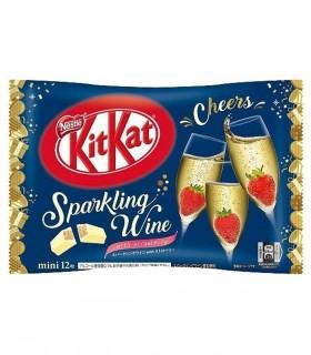 Kitkat Giapponesi Sparking Wine Strawberry - 12 pezzi