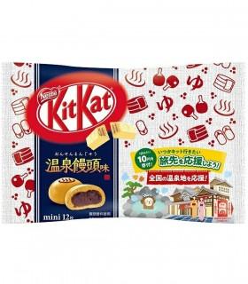 Kitkat Giapponesi Hot Spring Mantou - 12 pezzi