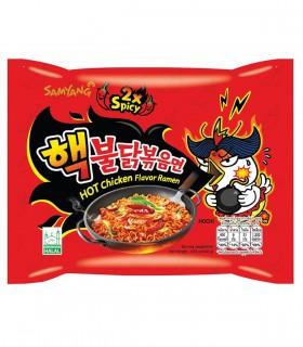Ramyun Noodles con salsa Buldak doppio piccante Hot Chicken 2x Spicy - Samyang 145g
