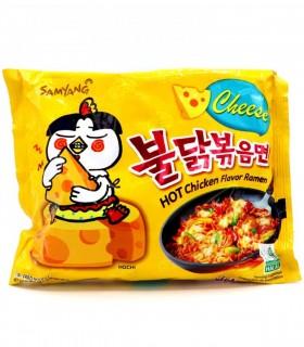 Ramyun Noodles con Salsa Bulda e Cheese - Samyang 140