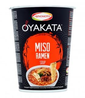 Oyakata Cup Ramen Noodles Gusto Miso - Ajinomoto 66g