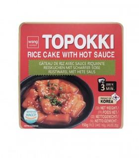 Topokki Coreani con Salsa Piccante - Wang 160g