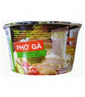 Pho Ga Rice Noodles Bowl Vietnamita al Gusto Pollo - MaMa 65g