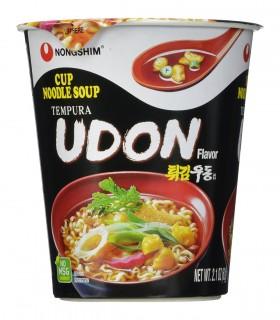 Nongshim Cup Noodles Coreano Tempura Udon - 62gr