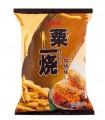 Popcorn di mais aromatizzati barbecue - Calbee 80g