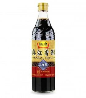 Aceto di Riso Cinese Invecchiato 3 Anni - HengShun 580ml