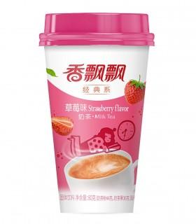 Te al Latte Instaneo Gusto Fragola - Xiang Piao Piao 80g