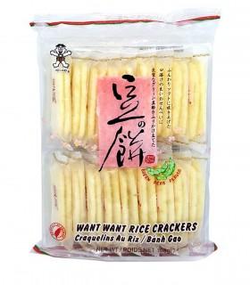 Biscotti di Riso Gusto Faggiori Verde 18pz - Wanwan 108g