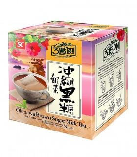 Tè al Latte con Zucchero di Okinawa Speciale - 5 porzioni