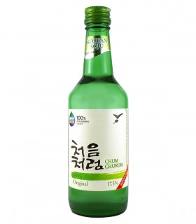Soju Liquore Bianco Coreano Originale - 350ml - 17,5%