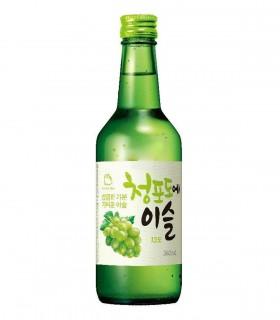 Soju Liquore Bianco Coreano Gusto di Uva Verde - 360ml - 13%