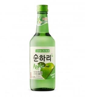 Soju Liquare Bianco Coreano al Gusto di Mela - 360ml - 12%