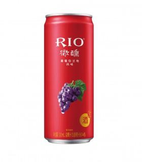 Rio Cocktail di Uva Rossa Vodka e Brandy - 330ml - 3%
