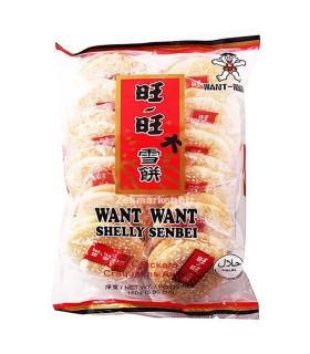 Senbei con Pioggia di Zucchero Glassato - Want Want 84g