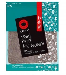 Alghe Nori per Sushi - OBENTO - 10fogli