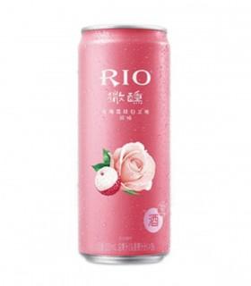 Rio Cocktail Vodka e Brandy con Litchi e Rosa - 330ml -3%