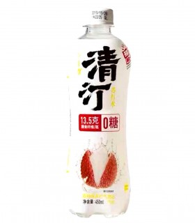 QingTing - Gassosa Gusto Litchi - 450ml