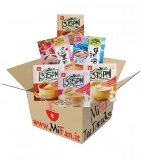 MiFan Box Sorpresa - 3:15 Tea Time Box  Vari tipi Tè al Latte - 6tipi
