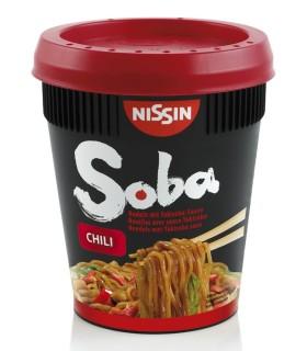 Nissin Cup Soba con Salsa Yakisoba Piccante - 88g