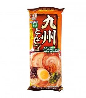 Ramen Noodles aromatizzati al brodo di maiale Tonkotsu Stile Kyushu - ITSUKI 2 Porzioni