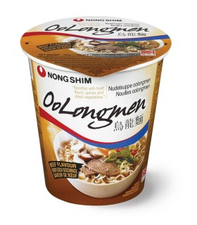 NongShim Oolongmen Cup Noodles Gusto Manzo - 75g