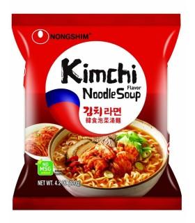 Nongshim Kimchi Noodle Ramyun Istantaneo Coreano - 120g