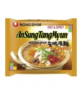 Nongshim Ansungtangmyun Noodles Ramen Istantaneo Coreano - 125g