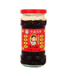 Salsa Piccante in Olio con Fagioli Neri - Lao Gan Ma 280g