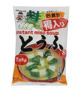 Zuppa di miso con tofu e alga wakame - Shinsyu-ichi 8 pozione