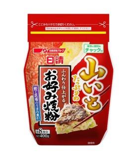 Preparato per Okonomiyaki Gusto Gambero Capesante - Nisshin Seifun 400g