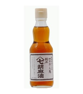 Olio di Sesamo Medio Scuro Giapponese - Kuki Sanyo 170g