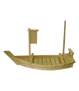 Barca Per Sushi In Legno - 80 cm