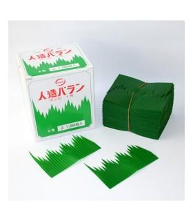 Foglie di Bambu In Plastica per Decorare Piatto Sushi 1000pz
