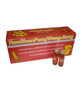 Ginseng Royal Jelly - Ginseng con Pappa Reale - 30 Fiale