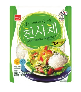 Sea Tangle Noodles - Spaghetti di Alghe Kelp - Wang 340g