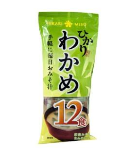 Zuppa di Miso Istantanea Con Alghe Wakame - Hikari 12 Porzione